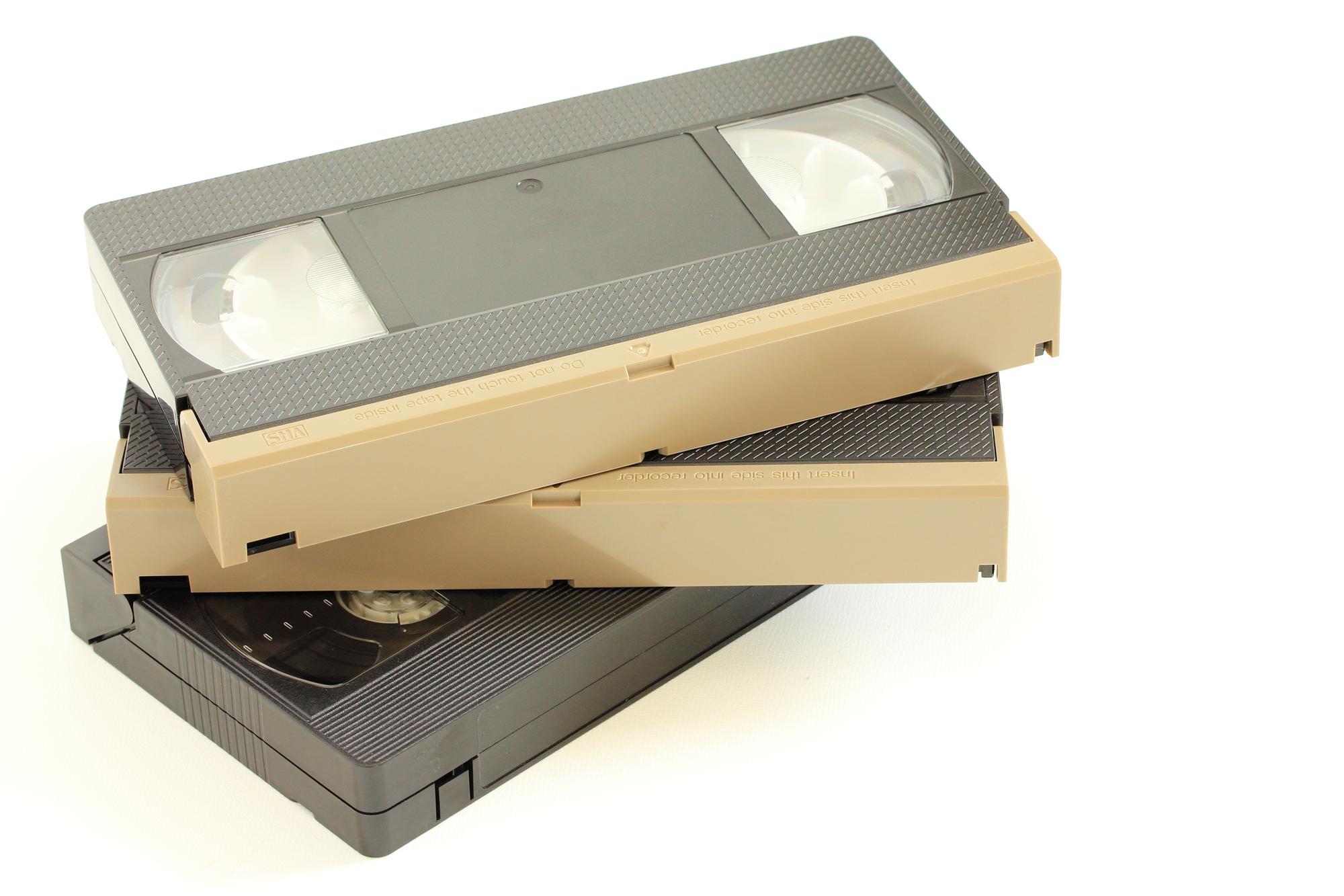 ビデオ テープ 処分